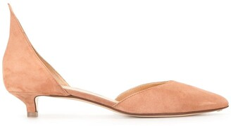 Francesco Russo Pointed Low-Heel Pumps