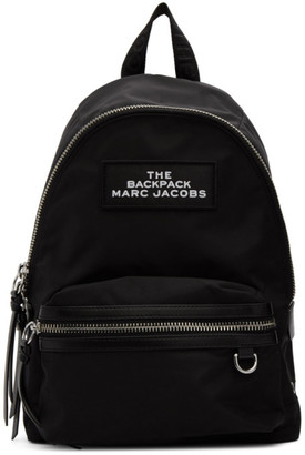 Marc Jacobs Black The Medium Backpack