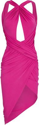 Alexandre Vauthier Draped Jersey Sleeveless Dress