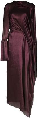 Roland Mouret Solera asymmetric silk gown
