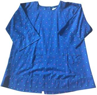 MAISON KITSUNÉ Navy Cotton Top for Women