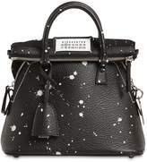 Maison Margiela Mini 5ac Printed Leather Bag