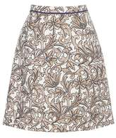 Etro Silk-blend jacquard skirt
