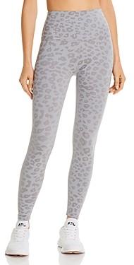 Beyond Yoga High-Rise Leopard Print Midi Leggings