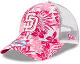 New Era Girls' San Diego Padres Flower Power 9FORTY Cap