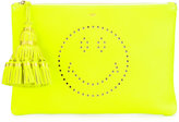 Anya Hindmarch smiley clutch - women - Calf Leather - One Size