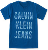 Calvin Klein Logo-Print Cotton T-Shirt, Big Boys (8-20)