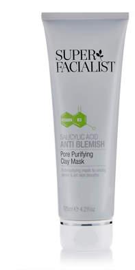 Super Facialist Salicylic Acid Anti Blemish Pore Purifying Clay Mask 125ml