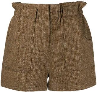 BA&SH Peter high-waisted shorts