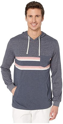 Rip Curl Rapture Long Sleeve Knit (Navy) Men's Clothing