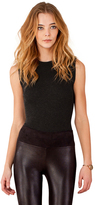 Hale Bob Izbel Stretch Bodysuit In Black