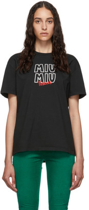 Miu Miu Black Forever T-Shirt