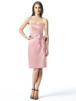 Dessy Collection 2841 Dress in Rose