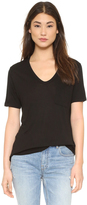 Alexander Wang Classic T Shirt with Pocket