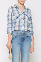 Joie Lilya Plaid Top