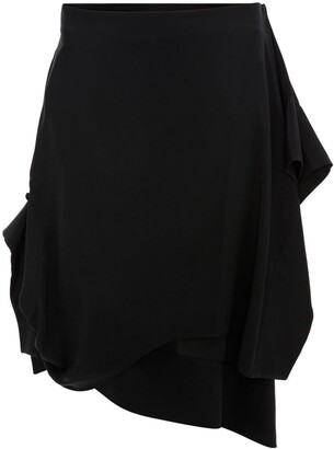 J.W.Anderson ASYMMETRIC SKIRT WITH GATHERED CUFF