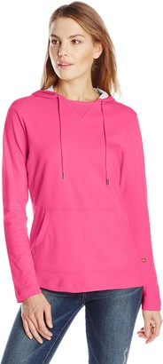 Dickies Women's Plaited Jersey Pullover Hoodie