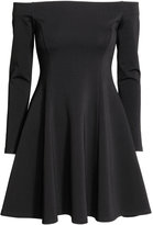 H&M Off-the-shoulder Dress - Black - Ladies