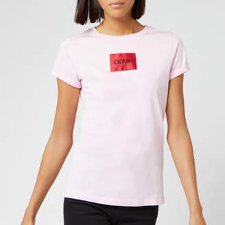 HUGO Women's Dennja Box Logo T-Shirt