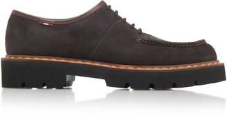 Bally Lyndon Suede Derby Shoes