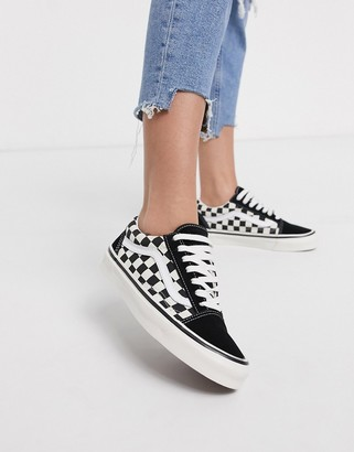 Vans Anaheim Old Skool 36 DX sneakers in black/check