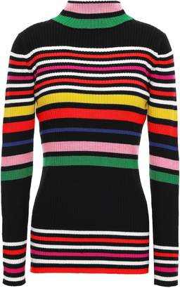 Paper London Striped Ribbed Wool Sweater