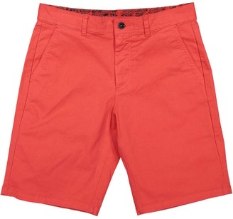 Panareha Turtle Bermuda Shorts - Red