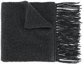 Dolce & Gabbana fringed edge scarf
