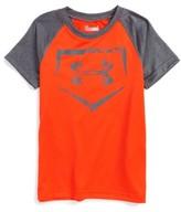Under Armour Toddler Boy's Home Plate Logo Heatgear T-Shirt