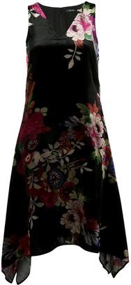 Natori Floral Print Dress