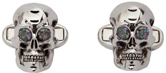 Paul Smith Silver Skull Cufflinks