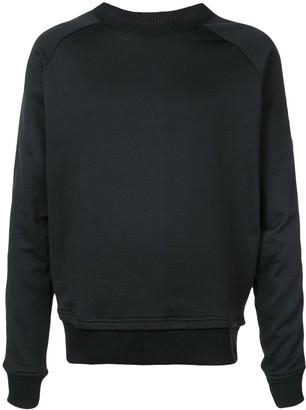 Just Cavalli animal sleeve print sweatshirt