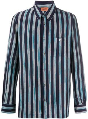 Missoni Striped-Print Cotton Shirt