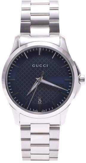 Gucci G-Timeless 126.4 Stainless Steel Quartz 38mm Mens Watch