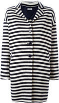 P.A.R.O.S.H. Lomar striped coat - women - Wool - S