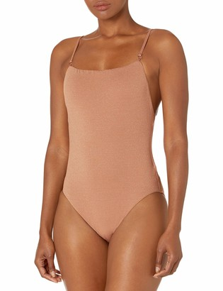 Seafolly Women's Square Neck Maillot One Piece Swimsuit