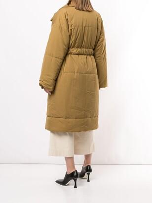 Proenza Schouler White Label Long Puffer Coat