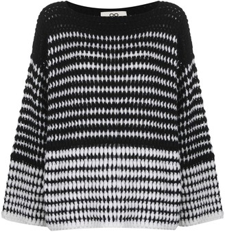 Sminfinity Stripe-Knit Jumper
