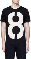 Rag & Bone Number print cotton T-shirt