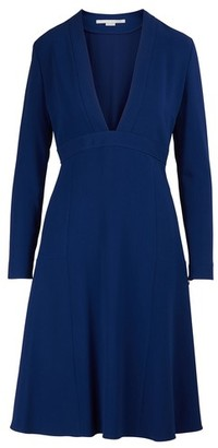 Stella McCartney V-neck mini dress