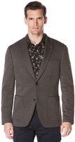 Perry Ellis Very Slim Oxford Knit Suit Jacket