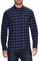 Slate & Stone Spread Collar Print Sportshirt