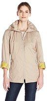 Cole Haan Women's Packable Anorak Raincoat