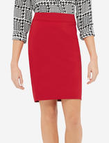 The Limited Exact Stretch Piped Pencil Skirt