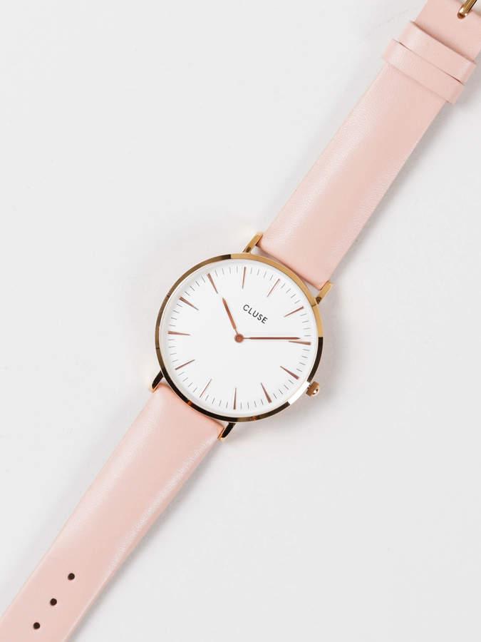 Cluse La Boheme 38MM Watch in Pink & Rose Gold
