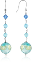 Murano House of Mare - Turquoise Glass Bead Earrings