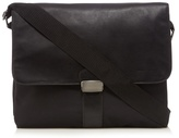 J By Jasper Conran Black Messenger Laptop Bag