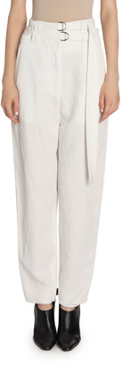 Proenza Schouler High Rise Double-Belted Pants