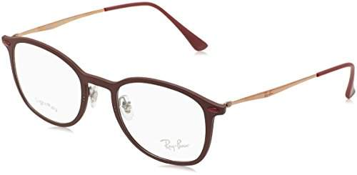 Ray-Ban Unisex-Adults 7051 Optical Frames, Negro