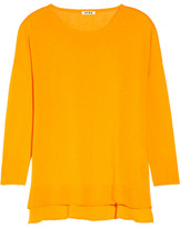 Acne Zola cotton-jersey sweater